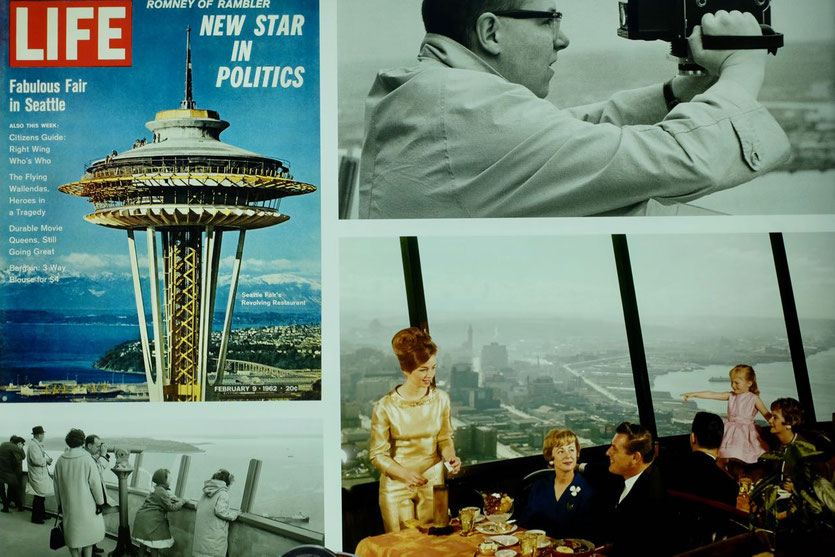 Seattle Space Needle Turm historisch 1962