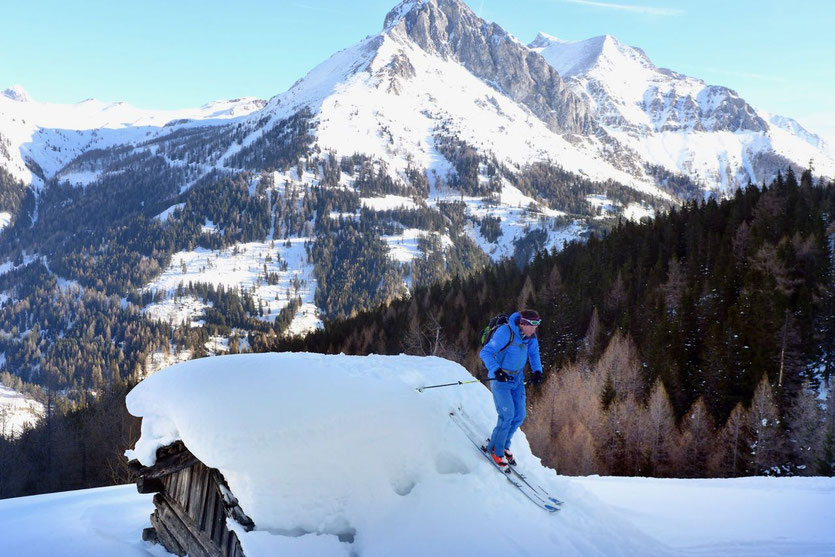 Skitour Felskarspitze im Zederhaustal -Salzburger Lungau