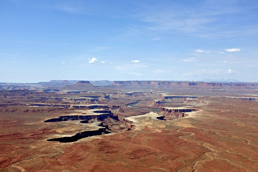 Green River Overlook, Island in the Sky Canyonlands USA Südwesten National Parks