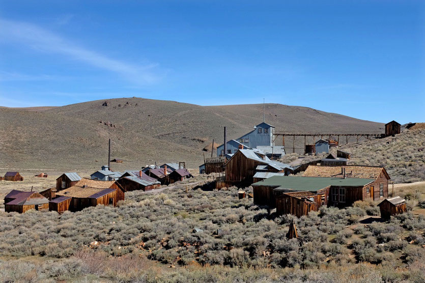 Visit Bodie Ghost Town, State Historic Park California