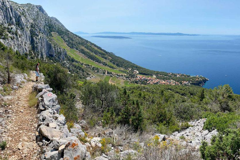 Top Küstenwanderung Insel Hvar zum Sveti Nikola