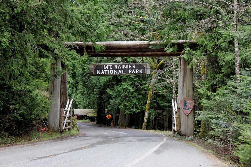 White River Entrance - Mount Rainier National Park