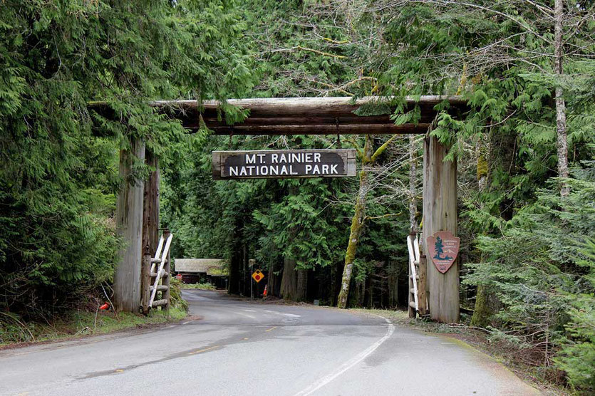 White River Entrance - Mount Rainier National Park