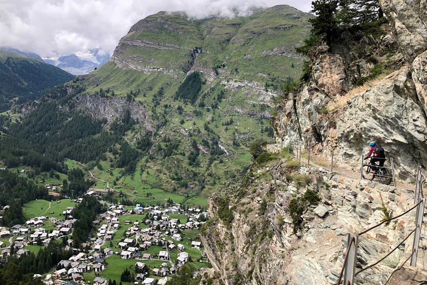 Biken in Zermatt