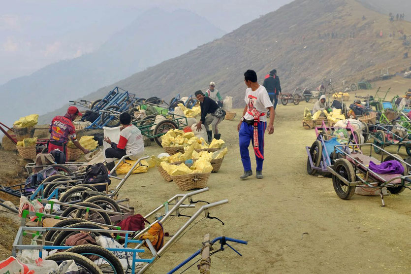 Mount Ijen Tour Ijen Aufstieg ohne guide