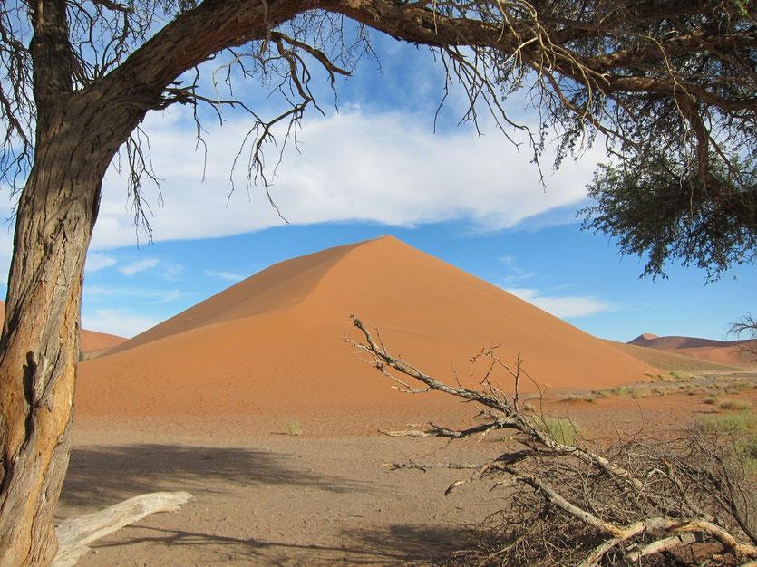 Sossusvlei Namibia, Fotostop Düne Km 45