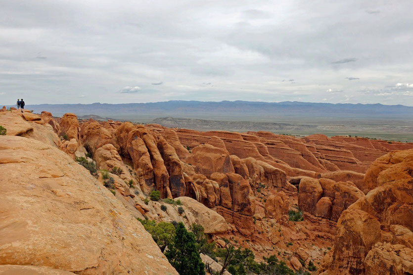 The Fins, Devils Garden Trail, Arches NP