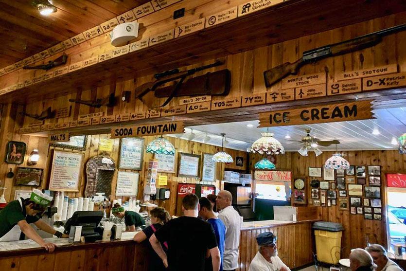 Legendärer Wall Drog Store