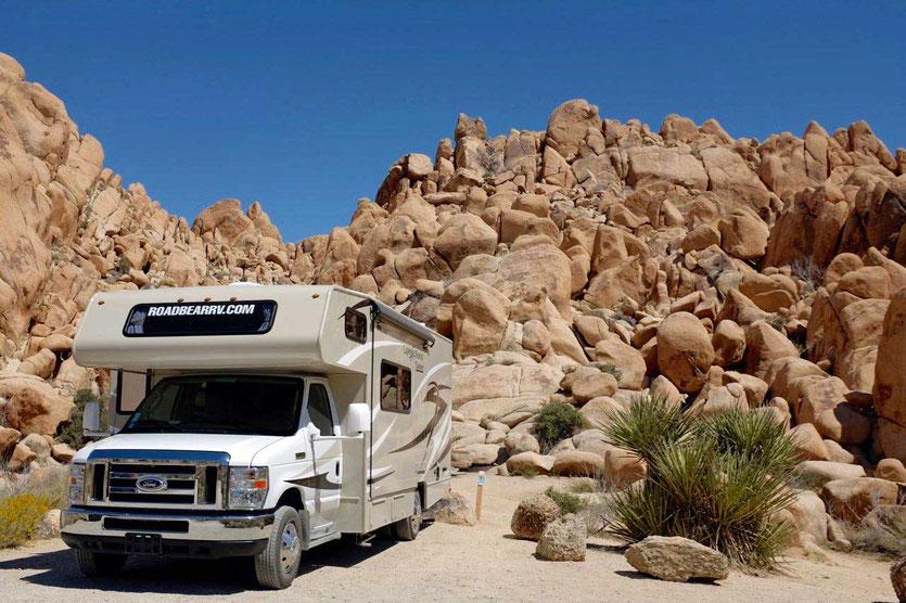 USA Nationalpark mit Wohnmobil Routenplan