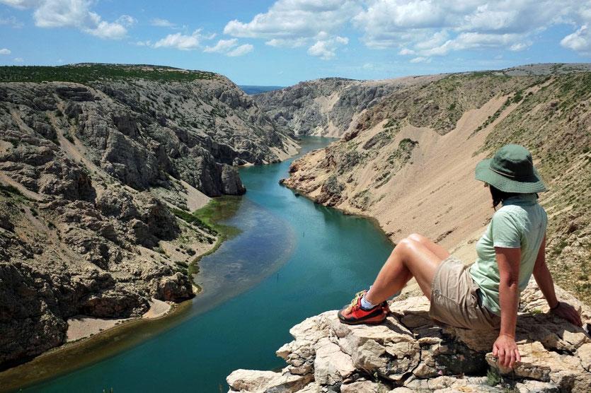 Ausflug Boat trip Zrmanja Canyon Fluss Kroatien