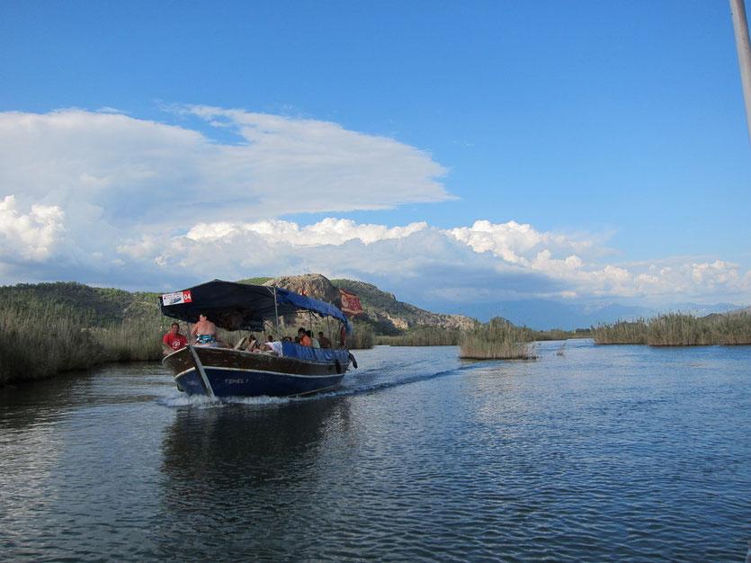 Bootsausflug Dalyan Delta, Türkei Lykische Küste