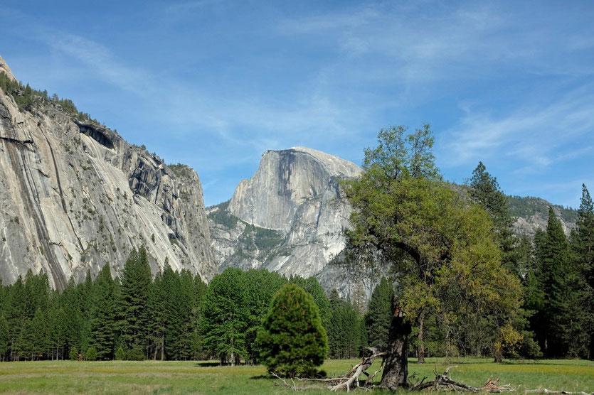 Kletterwand Half Dome, Yosemite NP Kalifornien