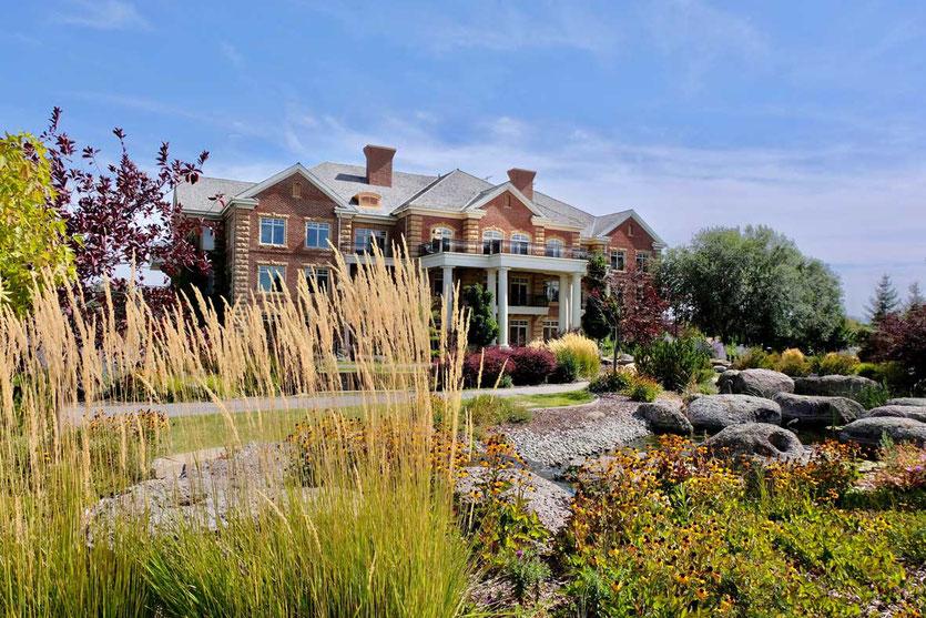 Idaho Falls schöne historische Häuser