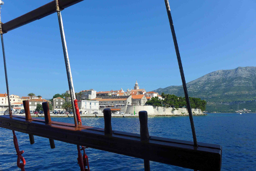 Korcula Kroatien Inseln