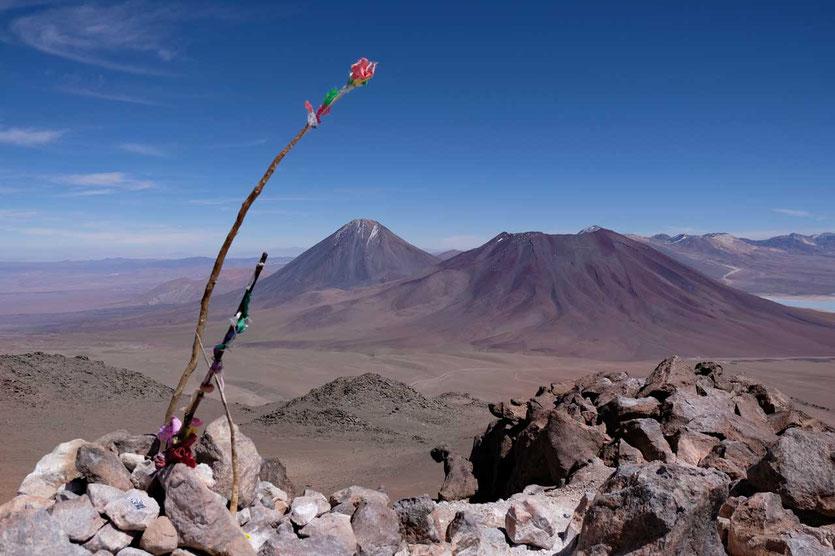 Vulkanbesteigung Cerro Toco 5600m Atacama