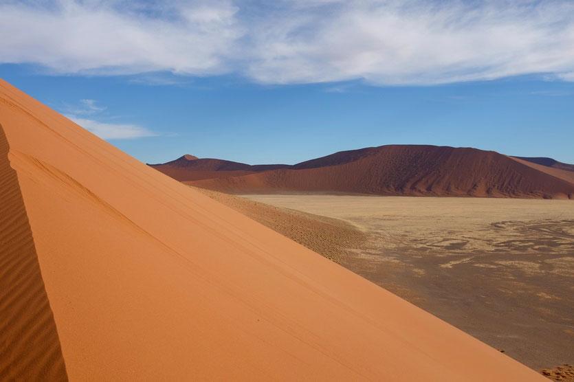 Sossusvlei Namibia, Düne Km 40
