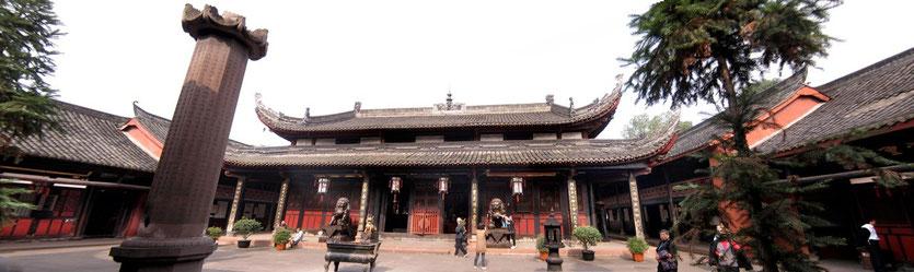 Wenshu Temple Chengdu