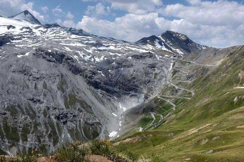 Trafoier Höhenweg Wandern Ortlergruppe Stilfserjoch mit Kindern Sulden Wandertouren