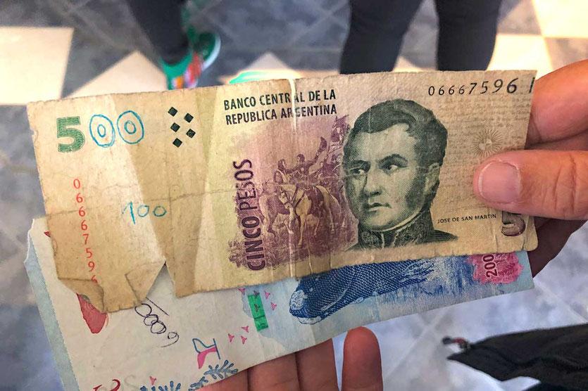 Währung Argentinien Pesos
