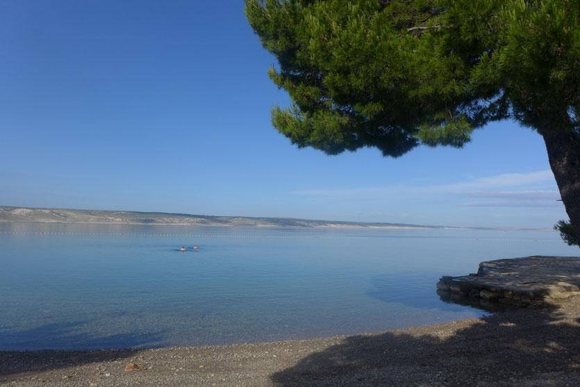 Campingplatz Bluesun Camp Plakenica  Starigrad Kroatien