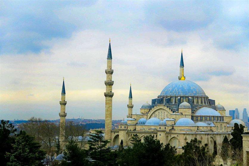 Sultan Ahmet Moschee auch Blaue Moschee Istanbul