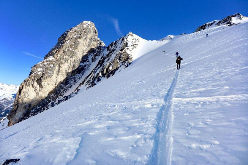 Skitour Felskarspitze, Lungau, Salzburger Land, Österreich
