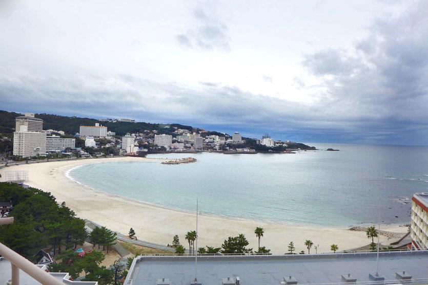 Shirahama Beach and Onsen hotel