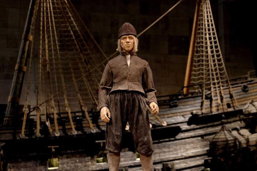 Beusch im Vasa Museum Stockholm