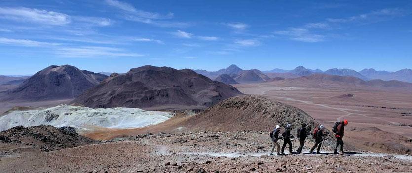 Toco Vulkanbesteigung Atacama