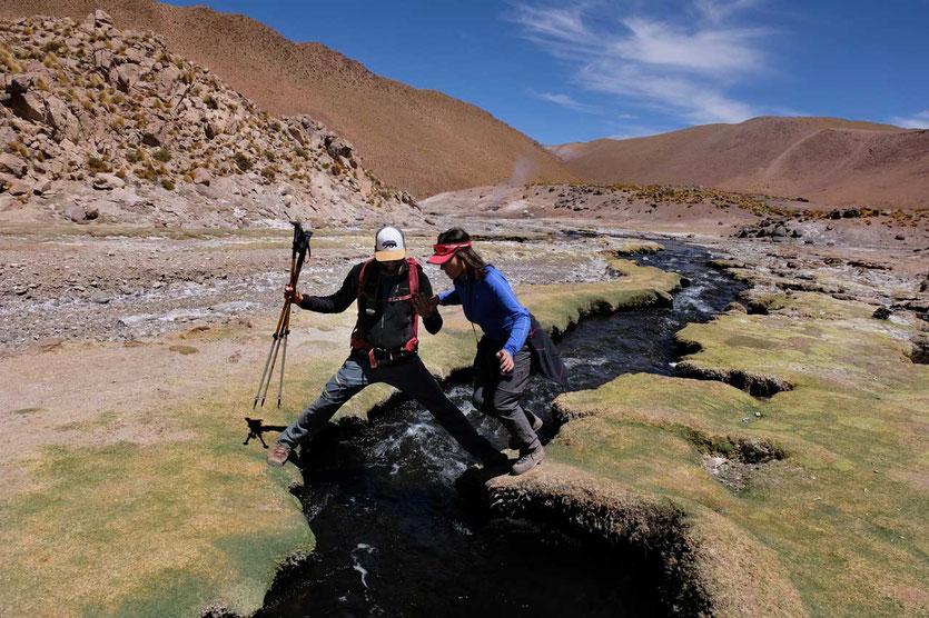 Rio Blanco Wanderung Atacama