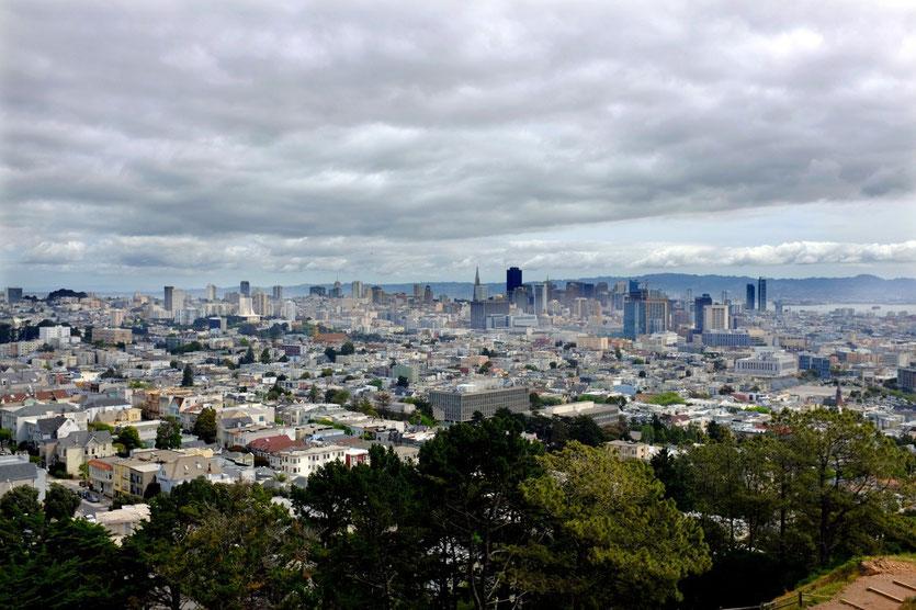 San Francisco View von Corona Heights
