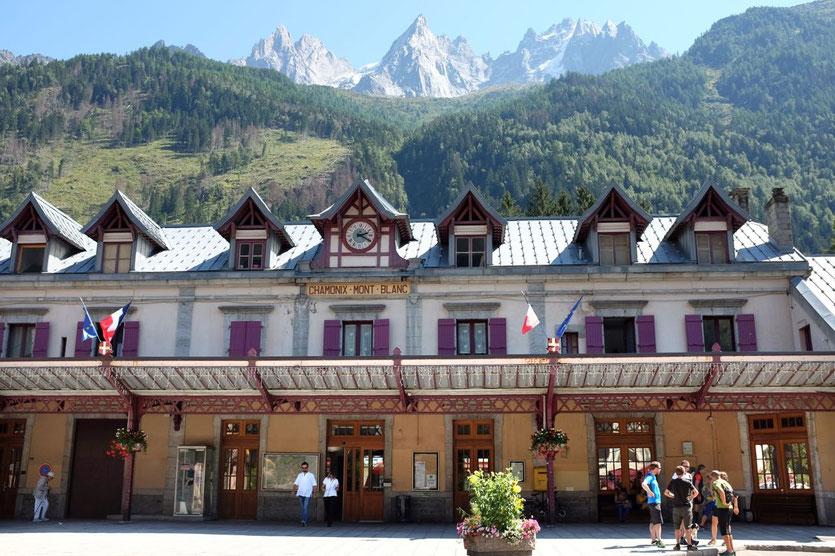 Chamonix alter Bahnhof trainstation