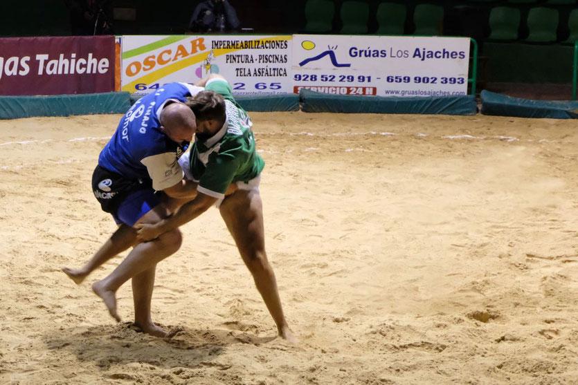 Lucha Canaria Ringer Arena Lanzarote