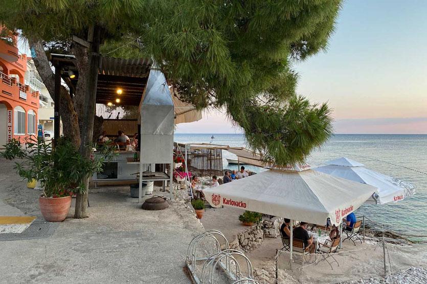 Restaurant Gostiona Milina in Milna Hvar