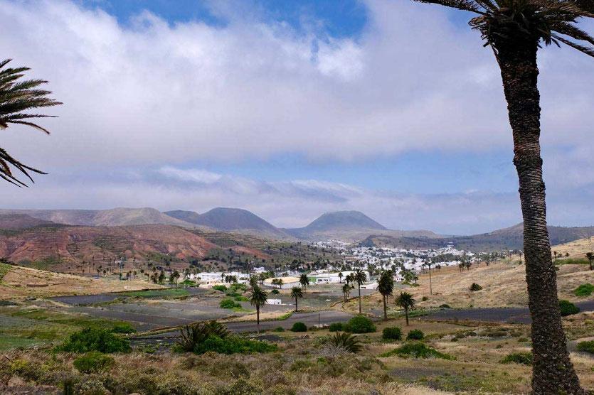 Lanzarote Norden schönste Dorf Haria liegt traumhaft im Palmental