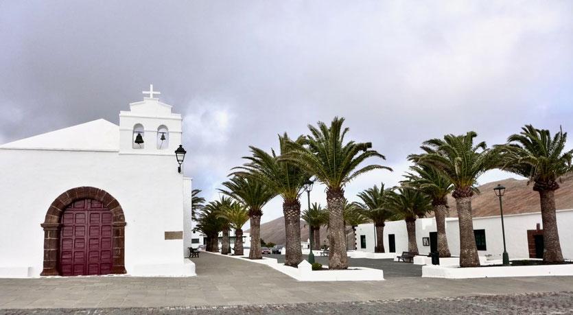 Fémes Kirche Ermita de San Marcial del Rubicón Lanzarote