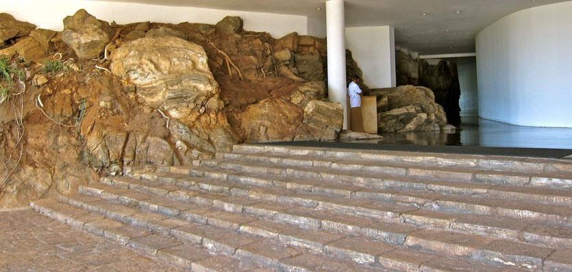 Offen Rezeption des HERITANCE KANDALAMA Eco-Hotel Sri Lanka
