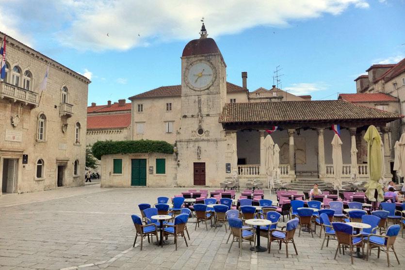 Kroatien Reise Stadt Trogir highlights