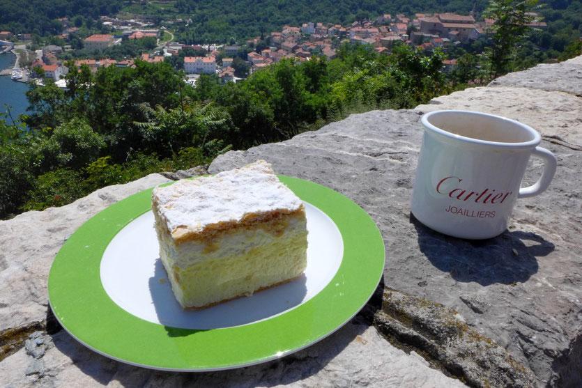 Bled Cremeschnitte Adria-Magistrale Croatia