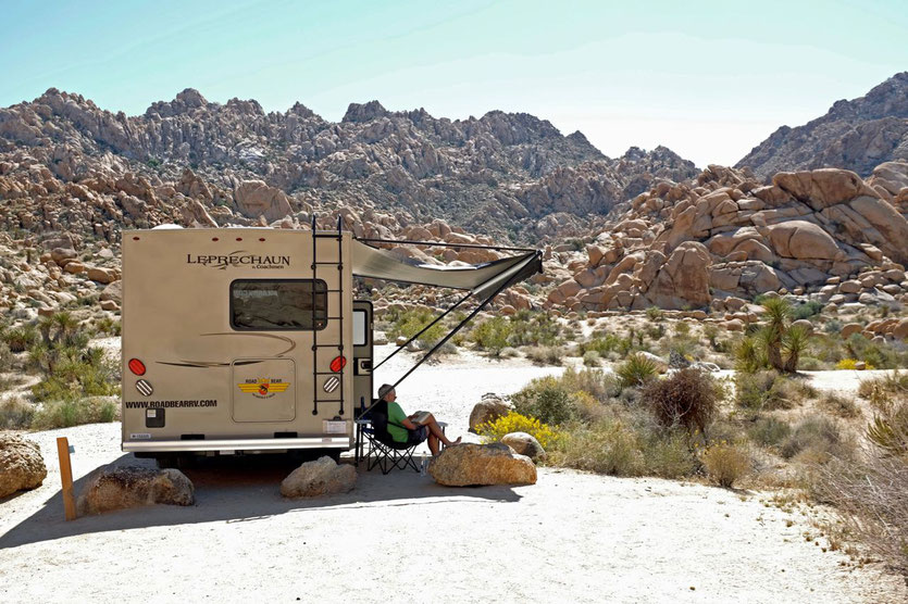Wohnmobil Vermieter USA Road Bear Joshua Tree National Park