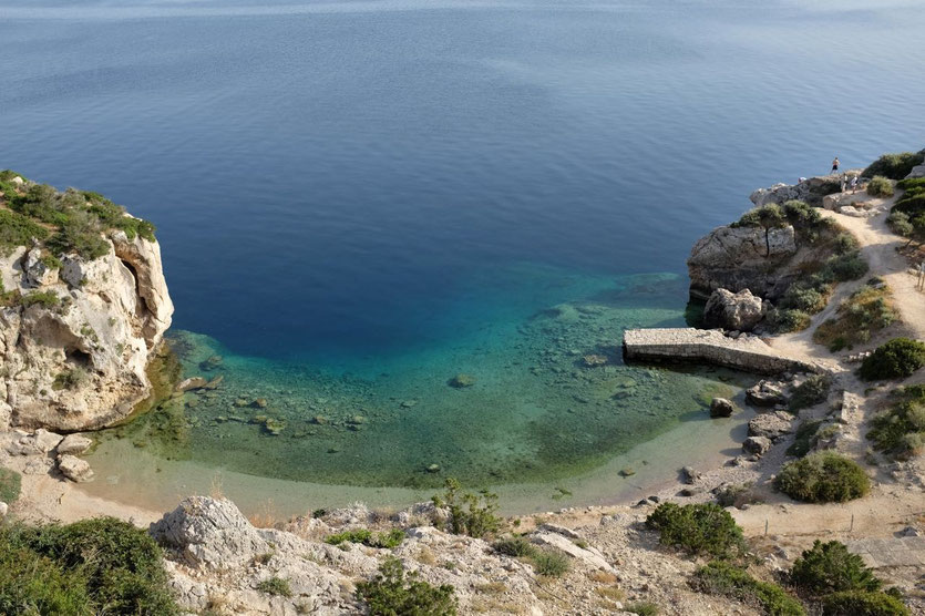 Hera-Heiligtum Kap Melangavi Griechenlad Peloponnes
