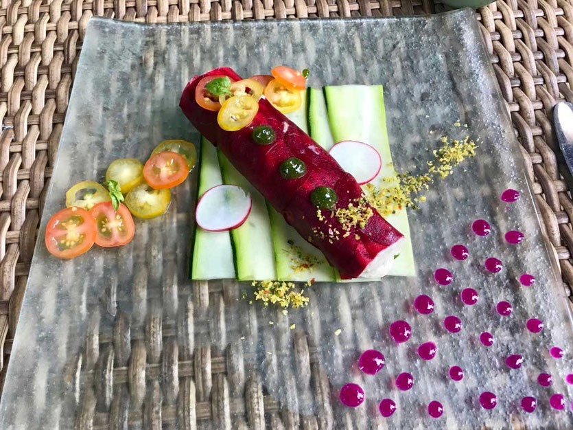 Raw Food Ubud Cannelloni Taksu Spa & Restaurant