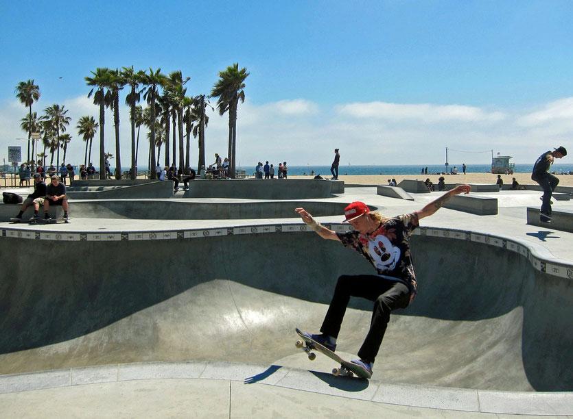 Half Pipe Venice Beach, Los Angeles