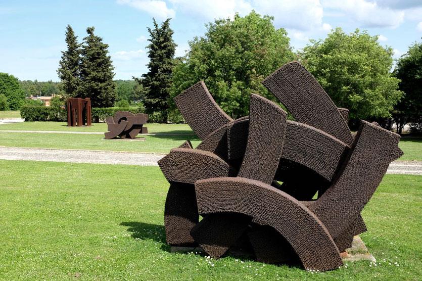 Bildhauer Dušan Džamonja Skulpturenpark bei Vrsar