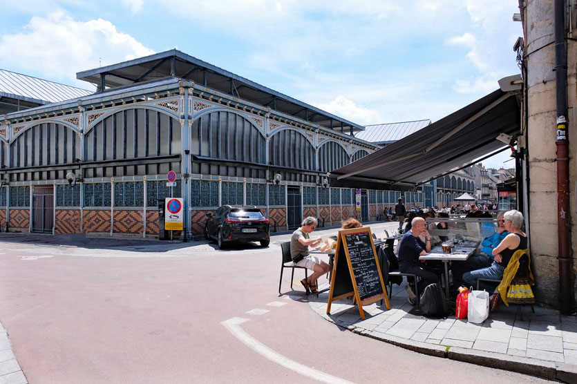 Dijons Markhalle Les Halles