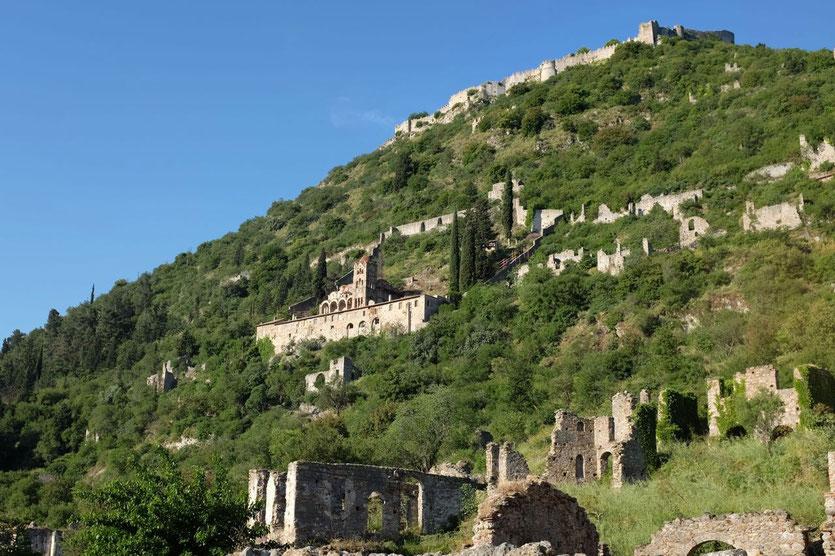 Mystras, Peloponnes