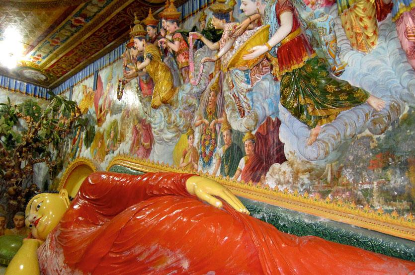 Angurukaramulla Tempel in Negombo, Sri Lanka