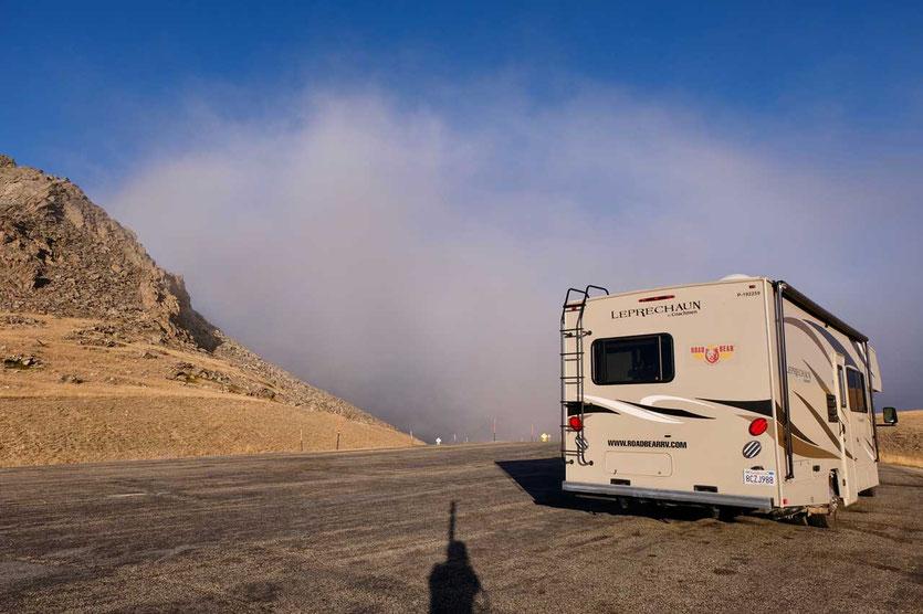 Wohnmobil Road #16 Powder River Pass Bighorn Mountains