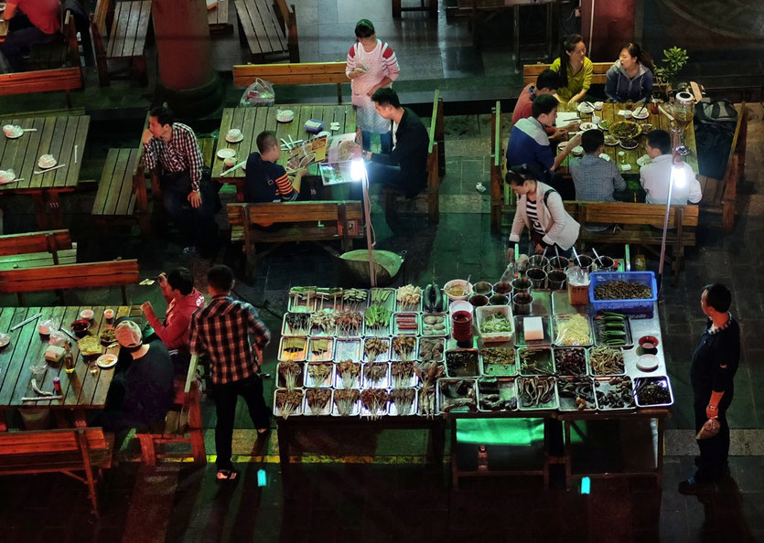 Shuadu Food Market Square Chendgu