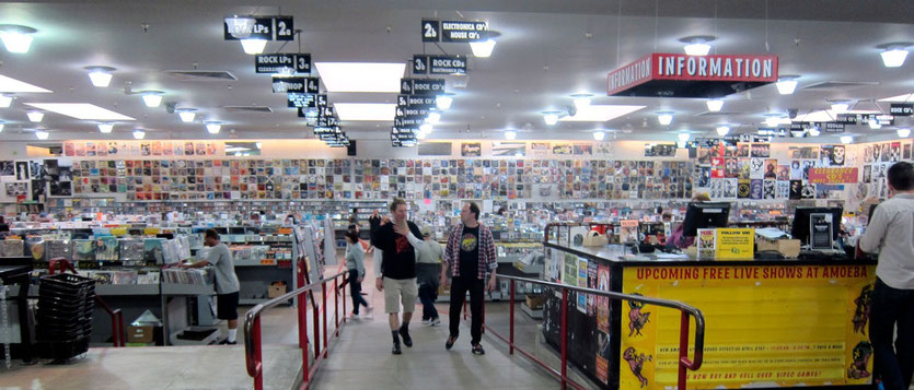 Amoeba Music Store San Francisco